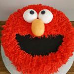 Elmo, taart Den Bosch