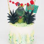 Krokodillentaart, Ties 2 jaar, Taart Den Bosch