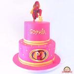 Mega mIndy taart, Sofia, Taart Den Bosch