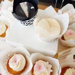 Wedding CupCakes Wendy en Mark, Bruidstaart Den Bosch