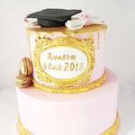 Graduated Cake!, Geslaagd Taart, Taart Den Bosch