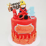 Brandweerman Sam Taart, Mason 4 jaar, Taart Den Bosch