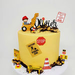 Work in Progress Cake, Olivier 1 jaar, Taart Den Bosch