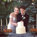 White Wedding Cake, Tim en Dasha, WeddingCake Den Bosch, Bruidstaart Den Bosch