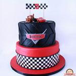 Jamie, cars taart, taart Den Bosch