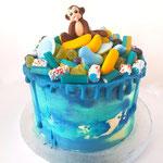 National Geographic cake, taart Den Bosch