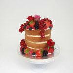 Replica one Year WeddingCake Naked WeddingCake, Ronnie en Regine, WeddingCake Den Bosch, Bruidstaart Den Bosch