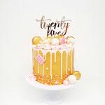 Golden DeLuxe Cake, TwentyFive Kelly, Taart Den Bosch