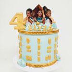 K3 Taart,Elyza 4 jaar, Taart Den Bosch
