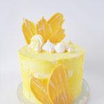 Witte Chocolade Taart in opdracht van Jose Cuypers Mode te Nuenen
