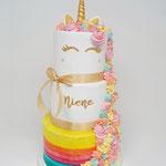 Unicorn Rainbow Cake, Niene, Taart Den Bosch