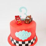 Cars Taart, Julian 3 jaar, Taart Den Bosch