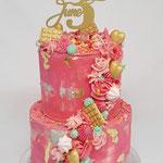 Colourfull Cake. June 3 Jaar, Taart Den Bosch
