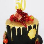 Henri 50 jaar, taart Den Bosch