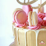 Details Sweet Eightteen taart, Taart Den Bosch