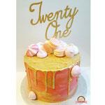 Twenty One taart, taart Den Bosch
