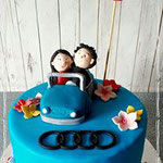 audi taart , taart Den Bosch