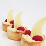 Tartelette Witte Chocolade Framboos, Tartelette Den Bosch