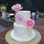 WeddingCake In Style, Xaviera en Bastiaan, WeddingCake den Bosch, Bruidstaart Den Bosch