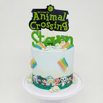 AnimalCrossing Cake, Steven 9 jaar, Taart Den Bosch