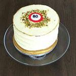 Sixty Years Taart, Taart Den Bosch