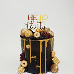 Hello Thirty, Back and Gold, Wesley, Taart Den Bosch