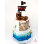 Colin, Piraattaart, taart Den Bosch