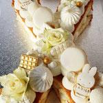 Letter Cake, X voor Xavier, Taart Den Bosch