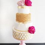 Golden Love CAke,bruidstaart 's-Hertogenbosch, Bruidstaart Den Bosch