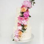 Life of Flowers Weddingcake, Marieke en Dirk, Bruidstaart Den Bosch, Weddingcake Den Bosch