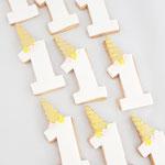 Unicorn style 1 jaar Cookie, Fondant Cookies, Koekjes Den Bosch