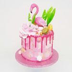 FlamingoWorld, taart Den Bosch