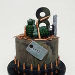 Army Cake, Levi 8 jaar, Taart Den Bosch