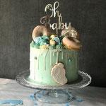 It's a Boy Cake, het is een Jongen, BabyshowerCake , Taart Den Bosch