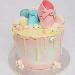 Genderreveal Cake, GenderReveal Cake Den Bosch