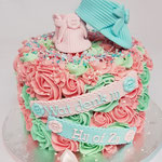 Genderreveal Cake, Eva, GenderReveal Cake Den Bosch