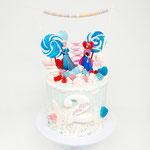 Frozen Drip and Candy Cake, Sofie 2 jaar, Taart Den Bosch