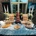 Wedding SweetTable Patrick en Sandra, Locatie Klooster Bethlehem, SweetTable Den Bosch, SweetTable Den Bosch