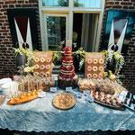 Wedding SweetTable Patrick en Sandra, Locatie Klooster Bethlehem, SweetTable Den Bosch, SweetTable Den Bosch