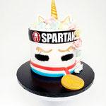 Spartan Unicorn, Taart Den Bosch