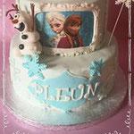 Frozen taart, Pleun, Taart Den Bosch