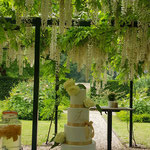 Golden Yes WeddingCake, Floor en Boudewijn, WeddingCake Den Bosch, Bruidstaart Den Bosch