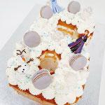 Frozen 2 Cijfertaart, Nikki 6 jaar, Taart Den Bosch
