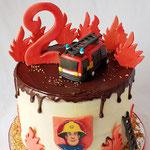 Brandweerman Sam DripCake, Taart Den Bosch