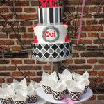 Oui Weddingcake , bruidstaart 's-Hertogenbosch, bruidstaart den bosch