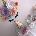 Unicorn SweetTable Zineb 1 jaar, Sweettable Den Bosch