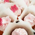 Pink Marmer and Gold LOVE CupCake, bruidstaart Den Bosch, WeddingCake Den Bosch