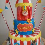 Circus taart Vienna,Taart Den Bosch