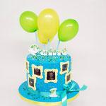 Ballonnentaart, Quint 1 jaar, Taart Den Bosch