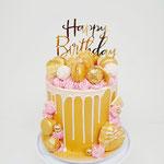 Gold, Pink and White, Taart Den Bosch